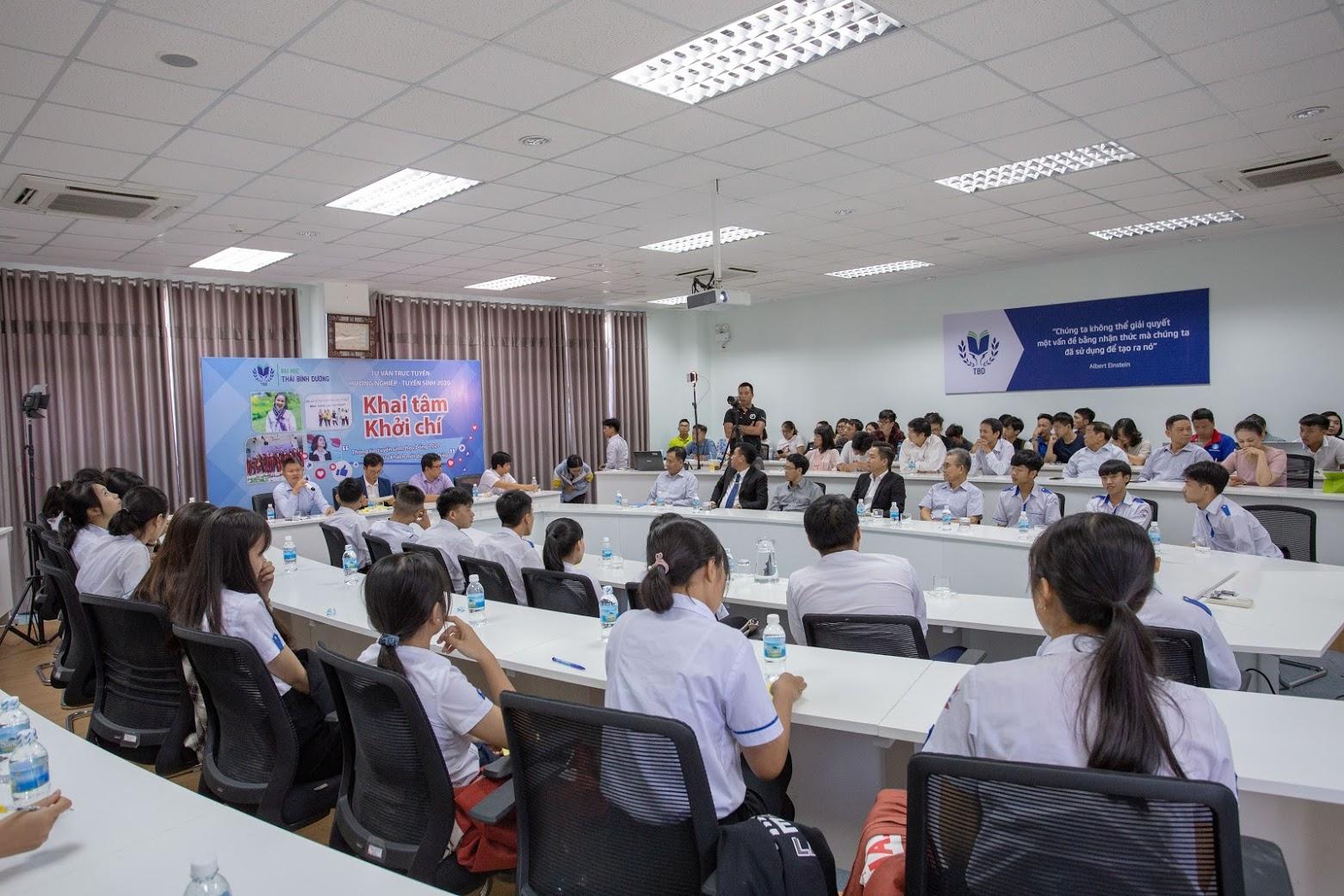 Đề án tuyển sinh Đại học chính quy năm 2020 của TBD