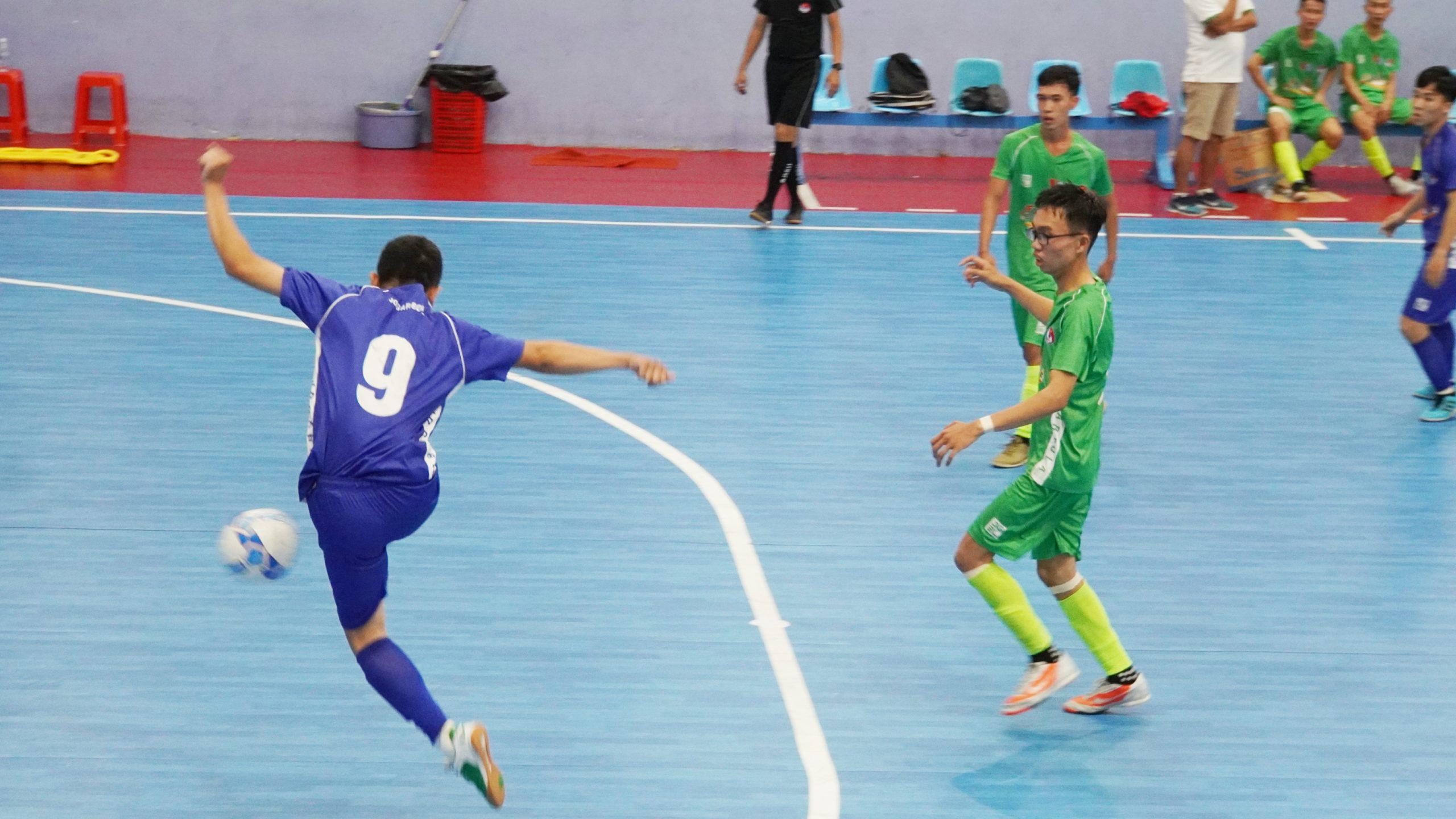 Giải Futsal HD bank SV Nam Trung bộ và Tây Nguyên 2020:  Đội tuyển ĐH Thái Bình Dương thắng 4-1 với ĐH Nông Lâm phân hiệu Ninh Thuận