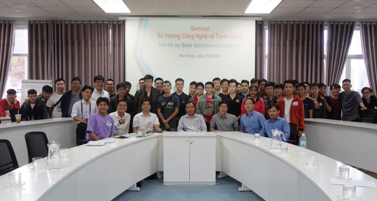 """Khoa Công nghệ thông tin tổ chức seminar:                                                       """"Những kiến thức, kỹ năng sinh viên IT cần có khi tìm việc"""""""