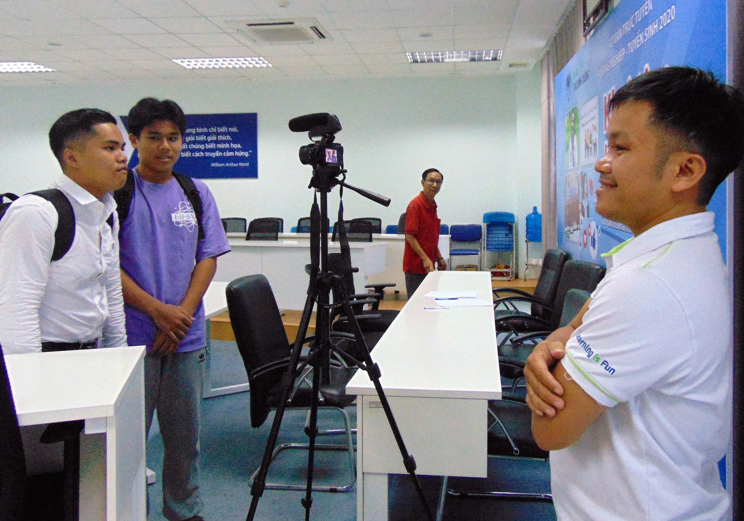 """Học sinh, sinh viên nói về Seminar """"Công nghệ và phỏng vấn việc làm IT"""""""