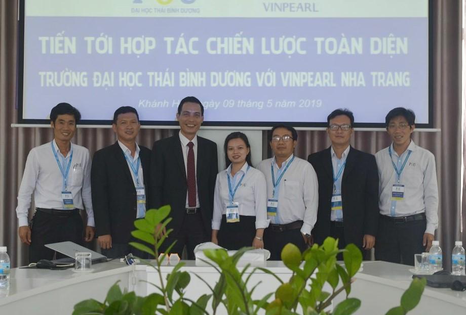 ĐH Thái Bình Dương hợp tác toàn diện với Công ty CP Vinpearl Nha Trang