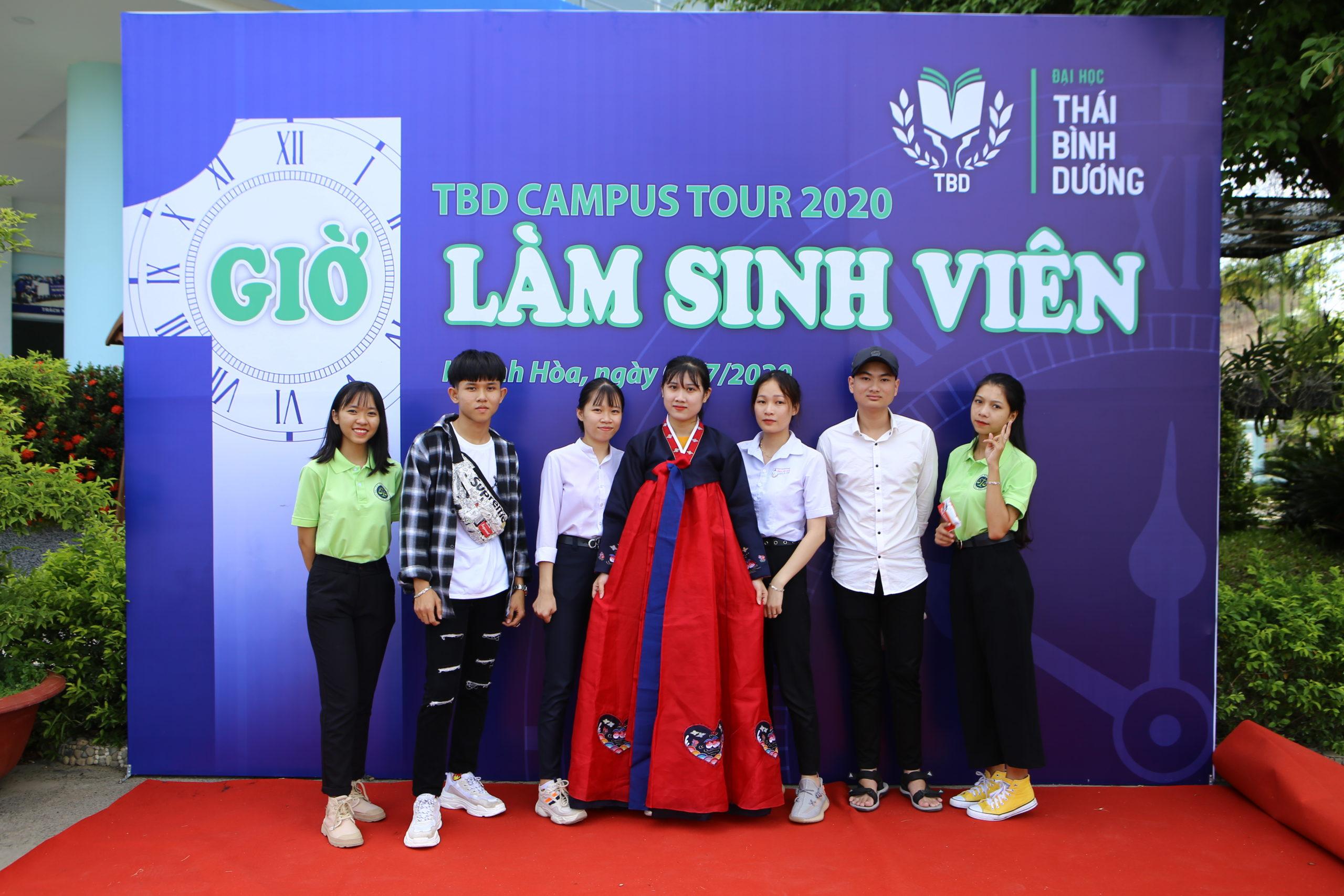 Chùm ảnh: TBD Campus Tour 2020  –  Trải nghiệm một giờ làm sinh viên