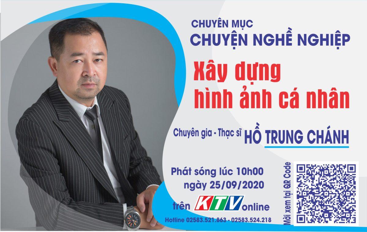 Chuyên gia Hồ Trung Chánh sẽ giao lưu tại trường quay KTV