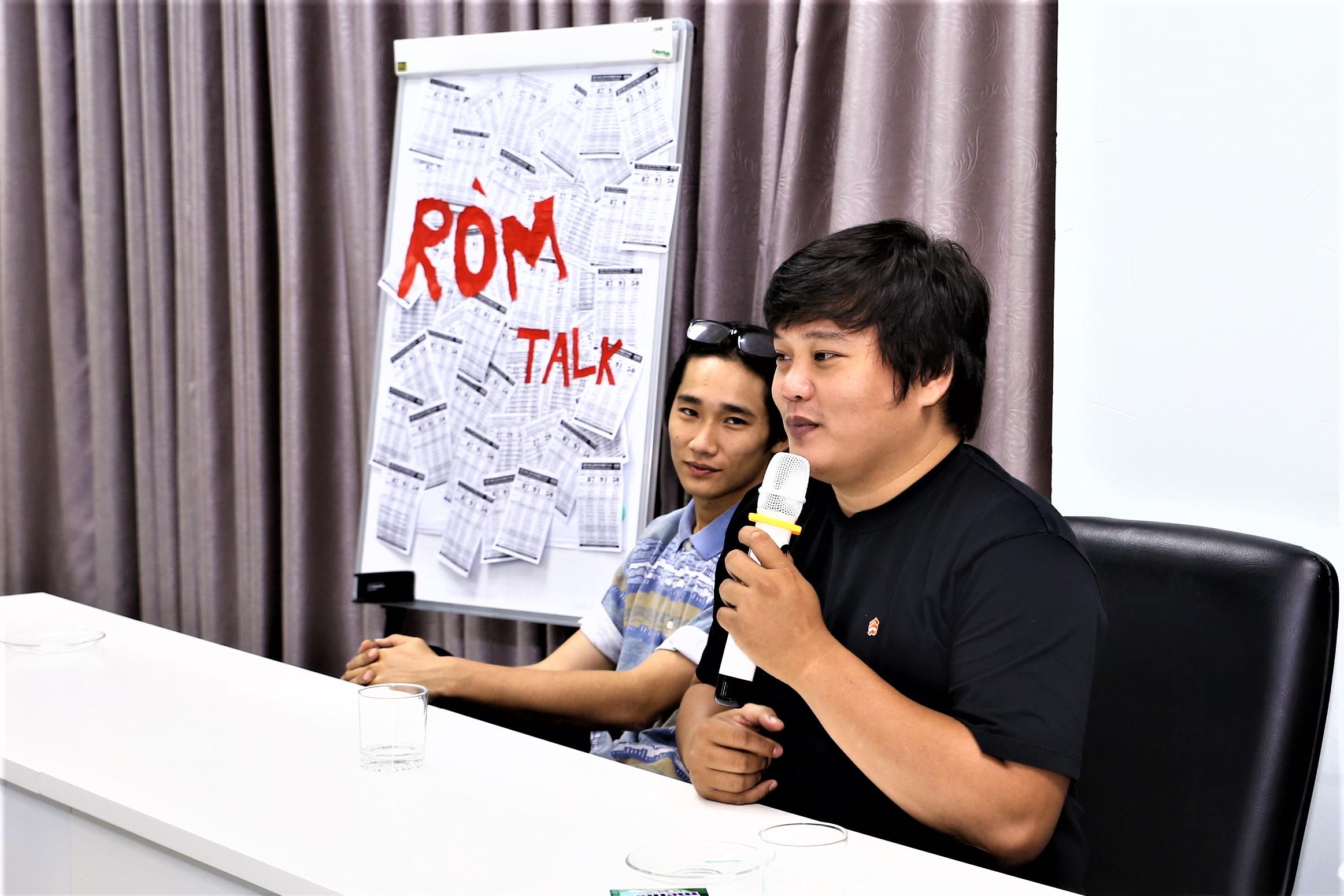 Sinh viên TBD giao lưu với Ê-kip làm phim Ròm