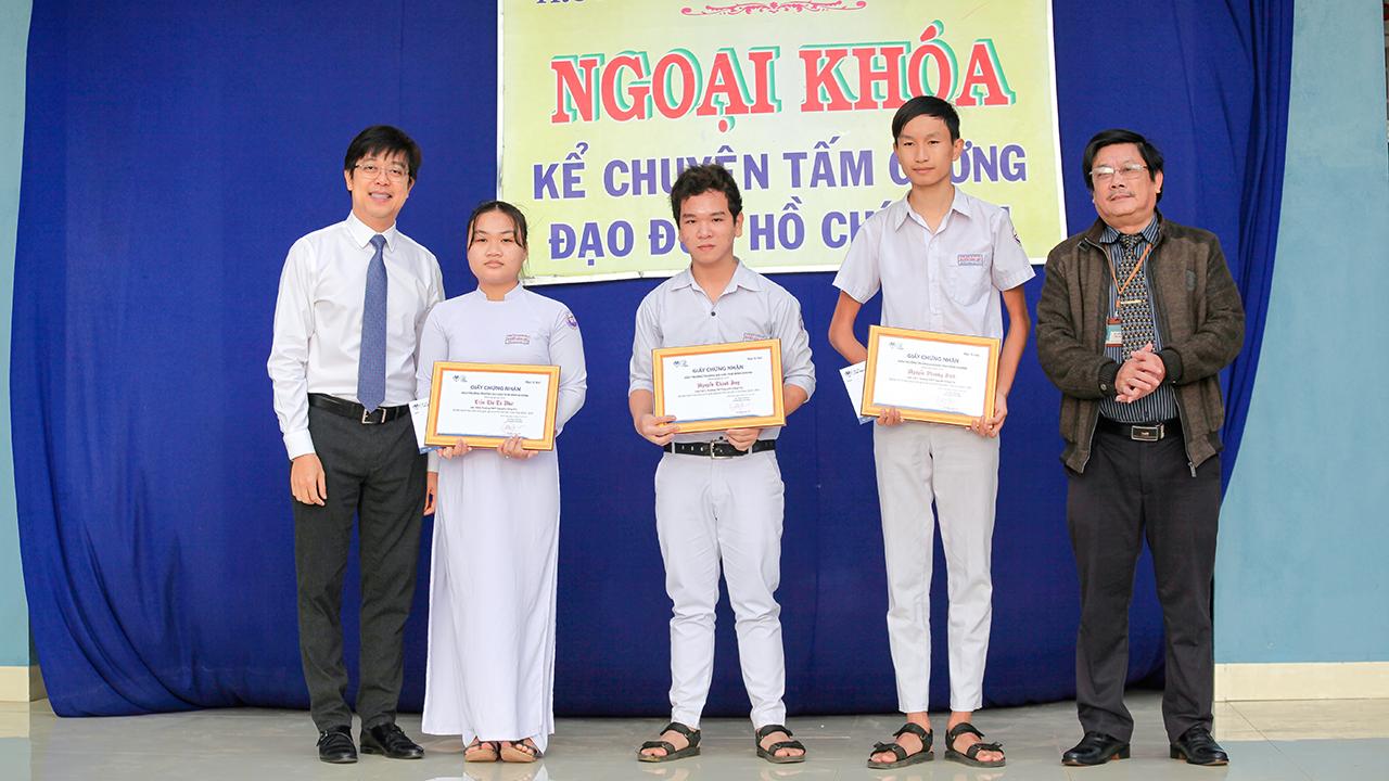 TBD ký kết THPT Nguyễn Công Trứ 1