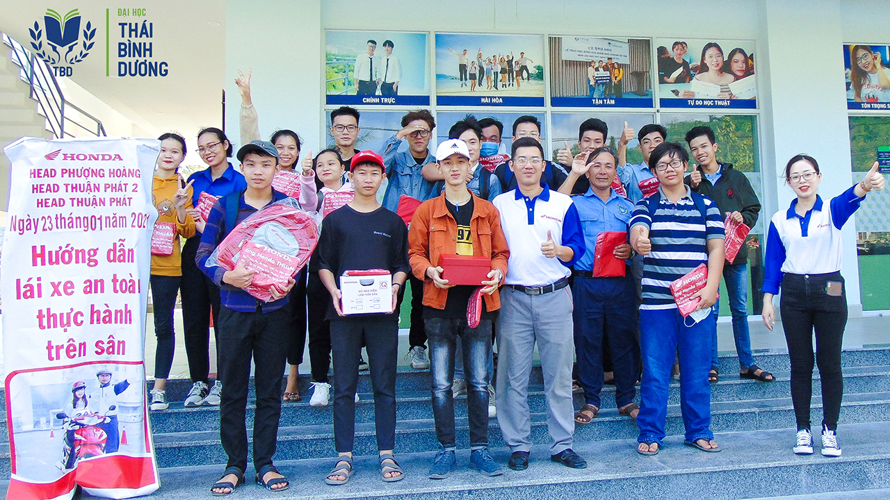 Sinh viên TBD với Ngày hội văn hóa giao thông 2021