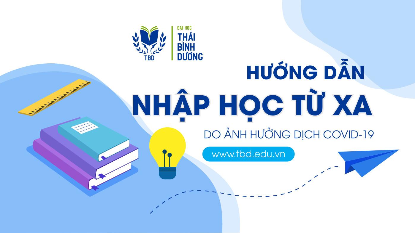TBD hướng dẫn nhập học từ xa năm 2021
