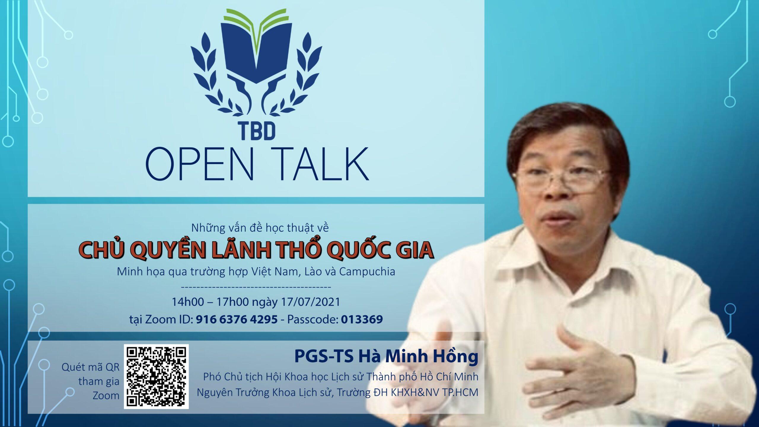 TBD Open talk